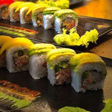 Sushi variatie van Sushi Remunj